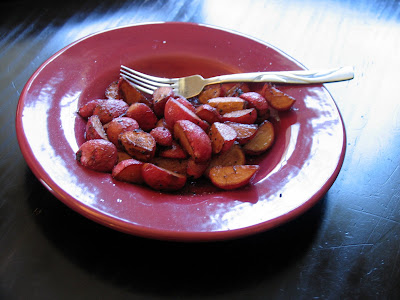 OMG Radishes – Balsamic Sauteed Radishes