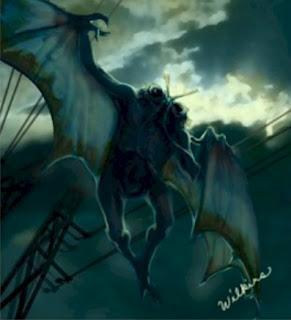 mothman1 Hewan Hewan Misterius Dari Berbagai Belahan Dunia