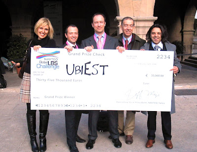 UbiEst vince l'edizione 2008 dell'LBS Challenge