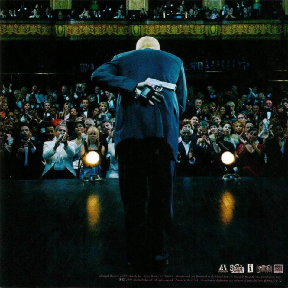 Matt Gardener A2 Media: CD Sleeve Analysis - Eminem Encore