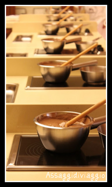 Master tutto latte alla Scuola del cioccolato della Perugina a Perugia