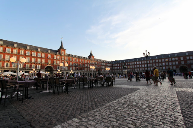 Plaza Mayor-Madrid