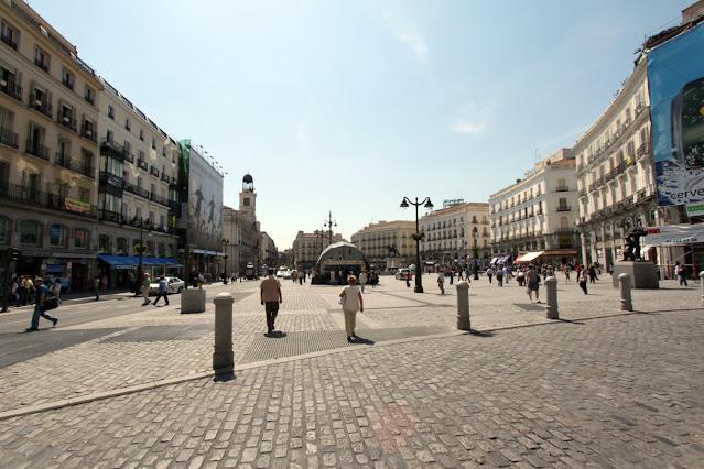 Puerta del sol-Madrid