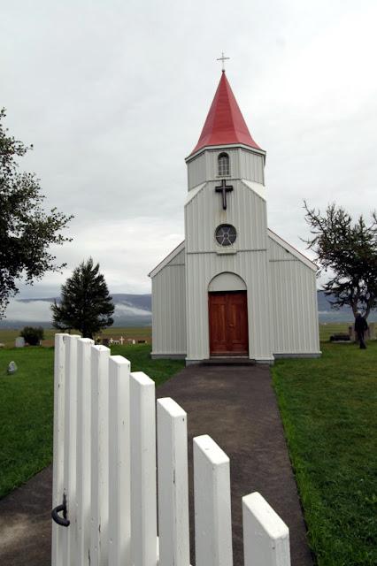 Fattoria di Glaumbaer-Chiesa