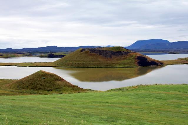 Pseudocrateri di Skutustadagigar-Lago Myvatn