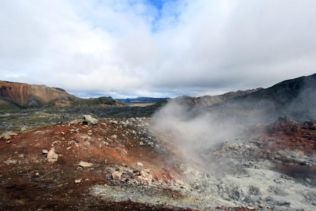 Landmannalaugar-Fumarole
