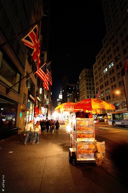 Avenue e hot dog-New York