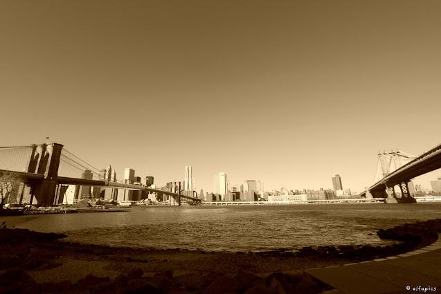 Brooklyn e Manhatthan bridge-New York