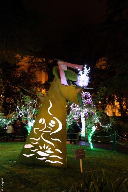Luci d'artista a Salerno-Giardino incantato