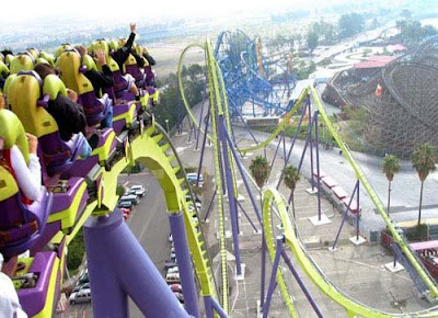 Worlds Wildest Roller Coasters Amazing Pictures
