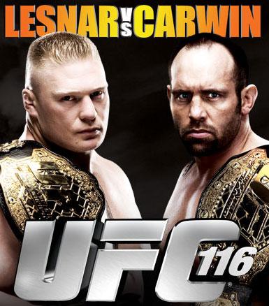 Watch UFC 116 Brock Lesnar vs ...