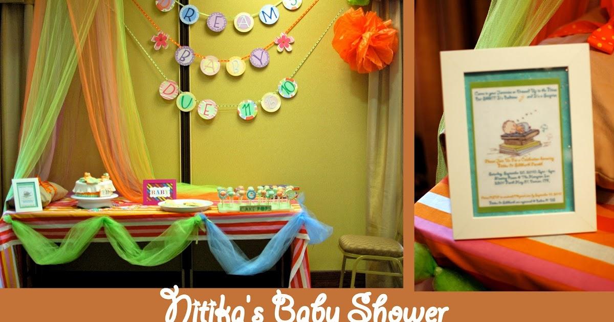 Turtlecraftygirl Bedtime Stories Baby Shower