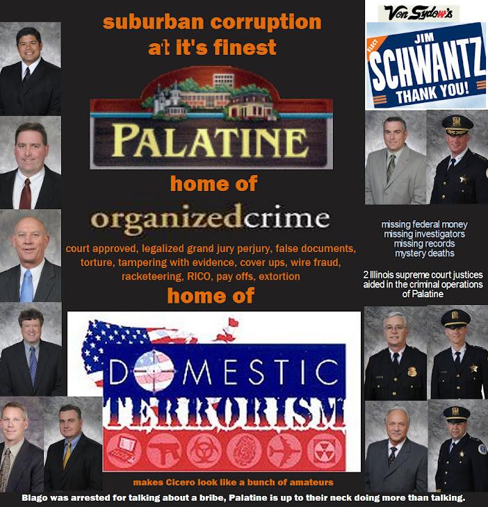 Palatine dirt 1: Schwantz takes charge of malarkey, public