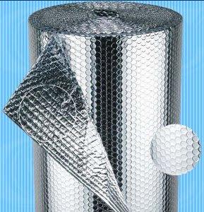 Túi khí 2 mặt bạc chuyên dùng cách âm - cách nhiệt - bảo ôn