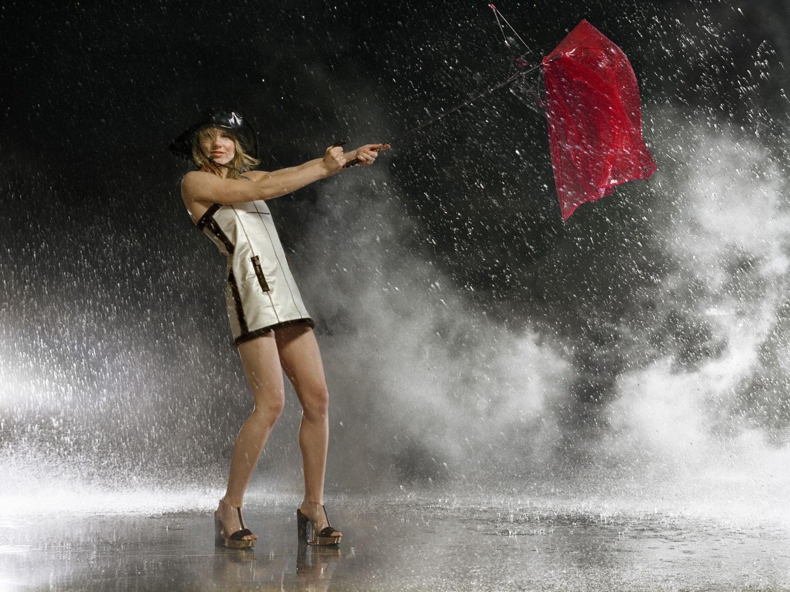 WongSeng HD Wallpapers: Sexy Girl In The Rain HD Wallpaper