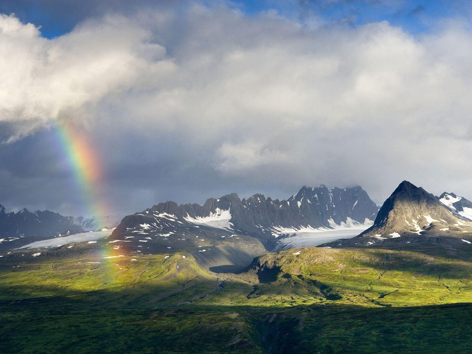 HD Wallpapers: Chugach Mountains Alaska Wallpaper