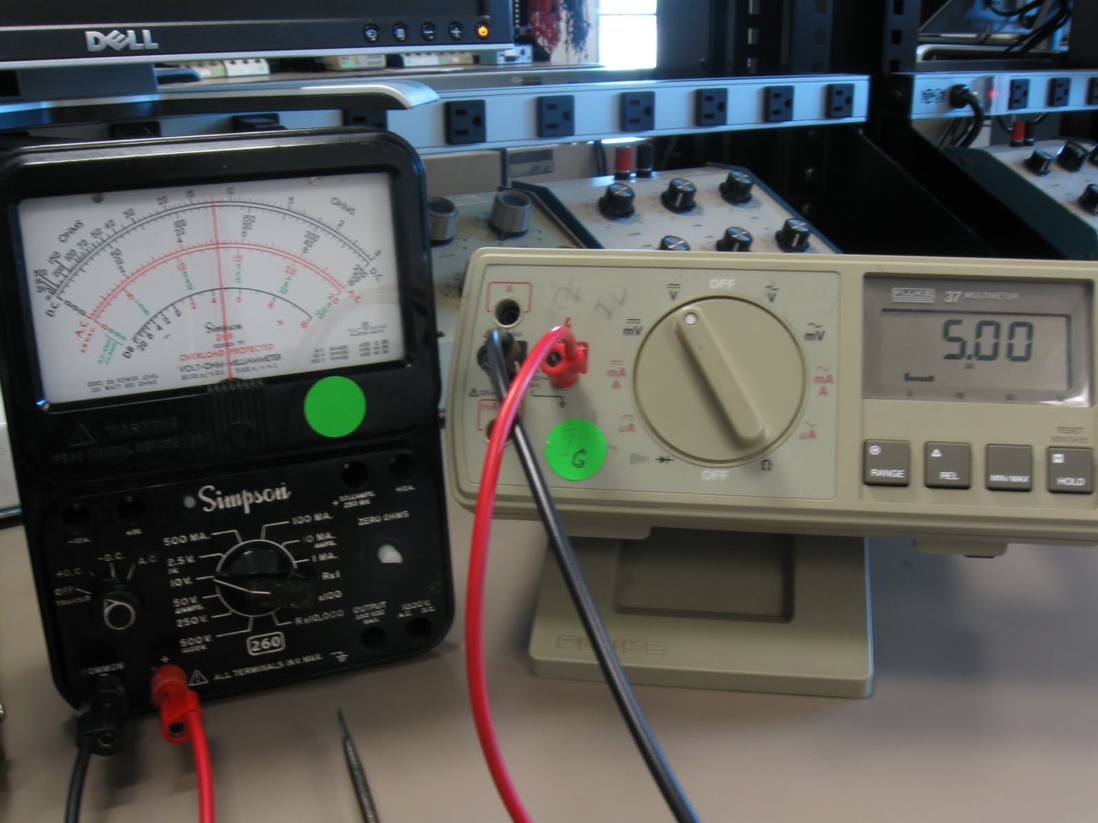 Electronic Repair Projects  Simpson 260 Series Analog Meter