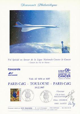 France - Concorde Aux USA