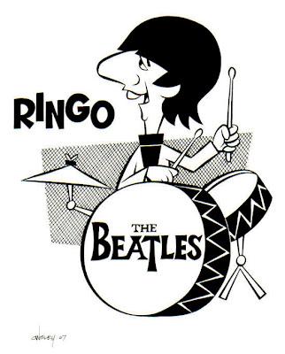- CartooNs de musicos - BEATLES+RINGO+B%26W