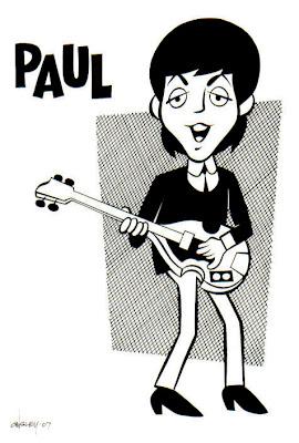 - CartooNs de musicos - BEATLES+PAUL+B%26W