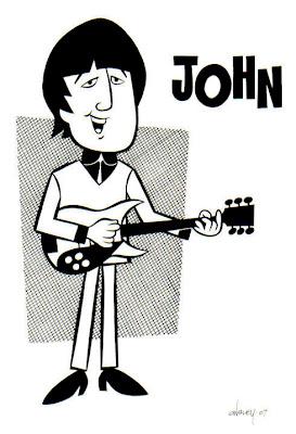 - CartooNs de musicos - BEATLES+JOHN+B%26W