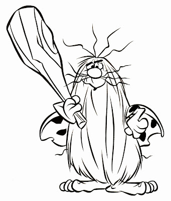 cave man coloring pages - photo#34