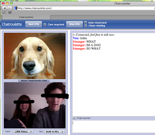Local chat roulette