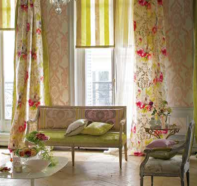 Design pink pink rooms and more pink rooms for Designers guild bedroom ideas