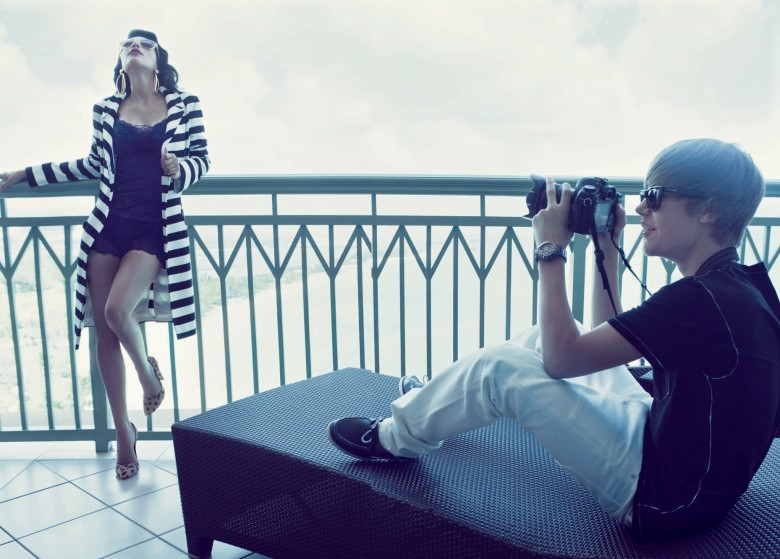 AlesSandRa: Kim Kardashian & Justin Bieber's Elle Photoshoot
