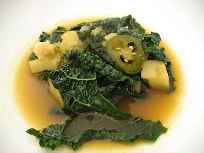Another hot recipe, this Dinosaur Kale & Jalapeno Soup will certainly ...