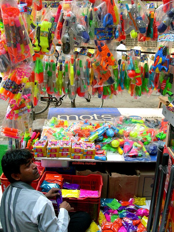 holi colours and baloons by kunal bhatia