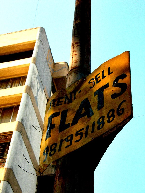 flats on sale sign in mumbai by kunal bhatia