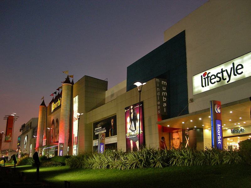 inorbit shopping mall at malad in mumbai