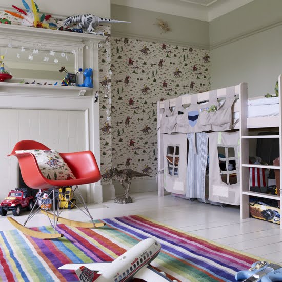 Colorful Kids Room Design: Home Design: Colorful Kids Room