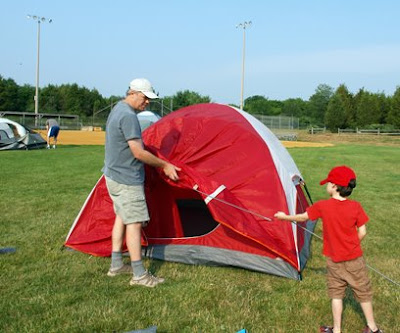 Hillsborough Township, NJ Campout 2008