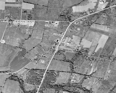 Amwell and Route 206 - 1956