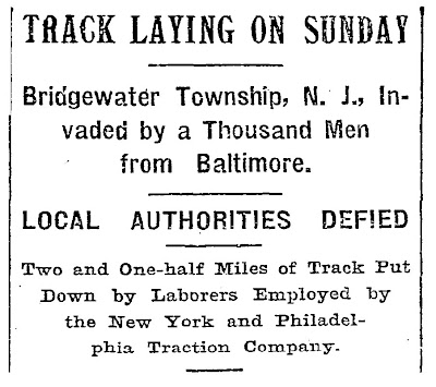 New York Times headline, 25 October 1897