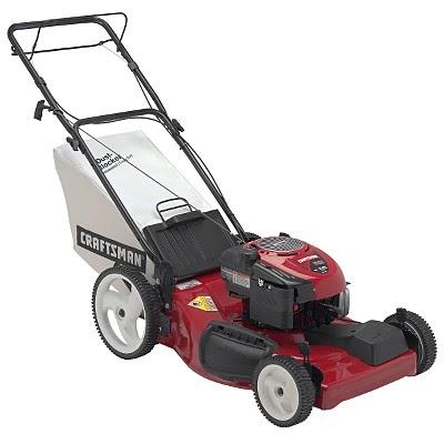 Green410 Craftsman Self Propelled Lawn Mower