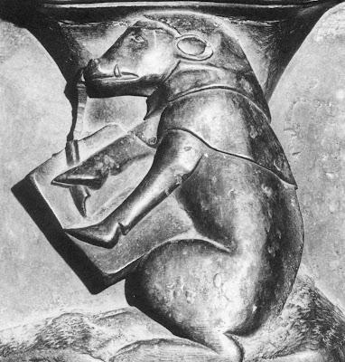 porco doutor, misericórdia de cadeiral de Ciudad Rodrigo, 1498-1503