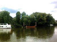 barco viking em Richmond, fotografado com o meu telemovel