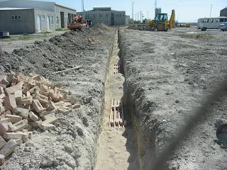 Kabloların Üzerindeki Kum Tabakası