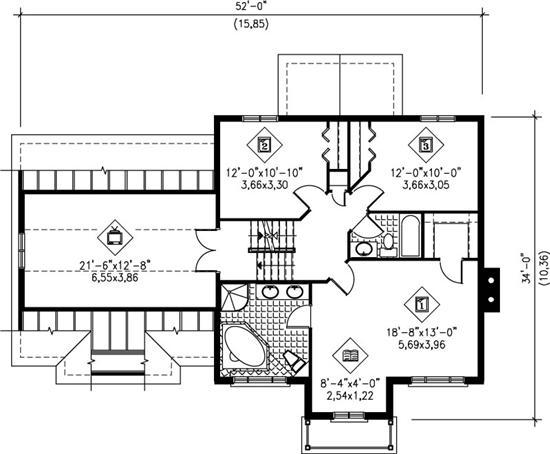 House Plans: Modern victorian house plans