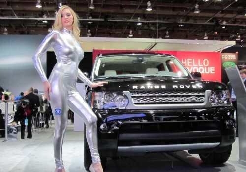 Detroit Auto Show 2011 Hot Girls Auto Car Online