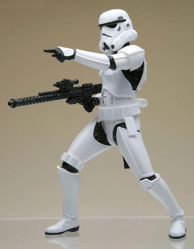 guNjap: Star Wars: ArtFX+ Stormtrooper Build Pack, Large ...