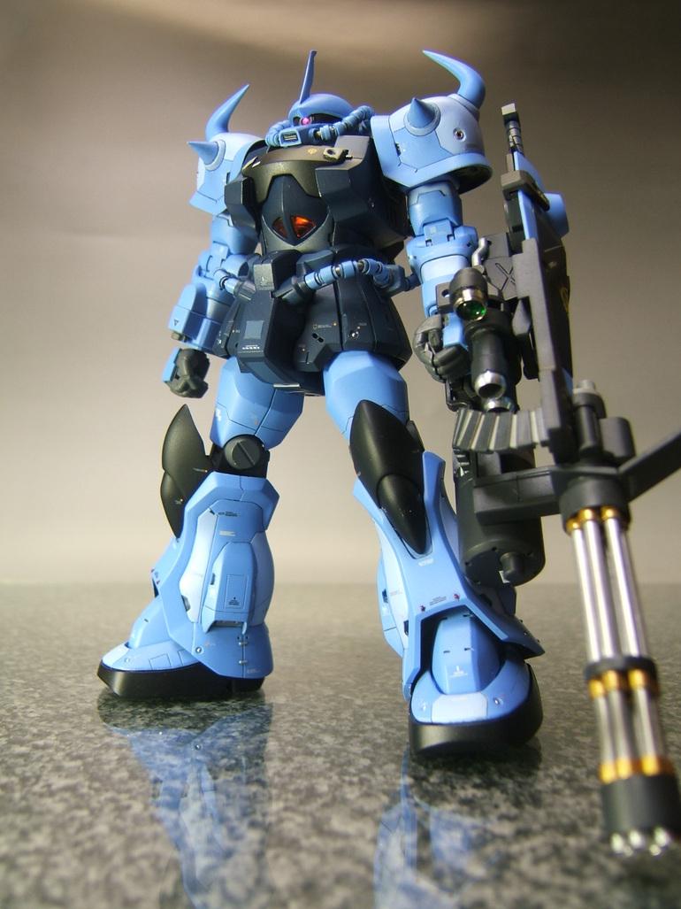 Hguc 1 144 Gouf Custom Remodeling Hi Res Images Gunjap
