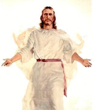 """Jawab Yesus kepadanya, """"Akulah kebangkitan dan hidup; siapa saja"""
