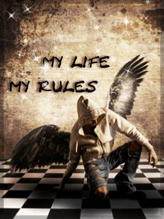 My Life my Rules and i miss u | Mobile Wallpaper ...