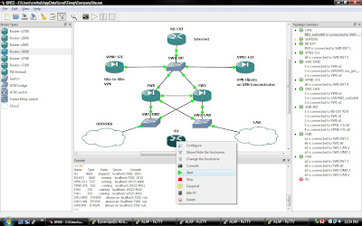 Cloud Architecture and Technology Blog: GNS3 - Cisco Virtual Lab