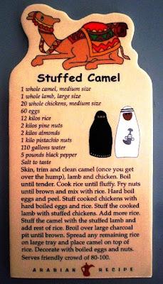 Camel recipe
