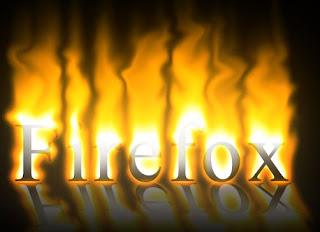 炎で燃え上がる効果のテキスト(鏡面反射付き)